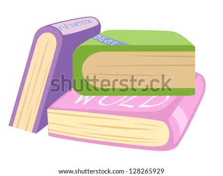 Book .jpg (EPS vector version id 128259674,format also available in my portfolio)