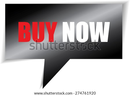 Book now speech black square template | business banner with symbol icon. - stock photo