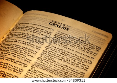 Book of genesis original text