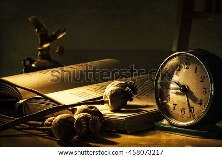 Book Of Shadows, Grungy Still Life
