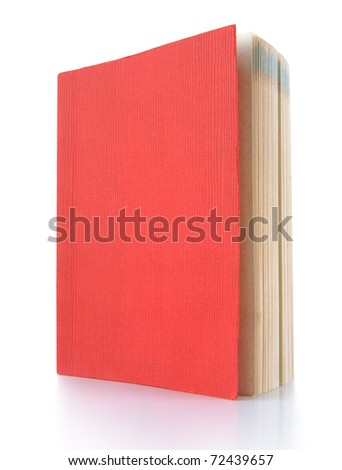 Book on a white background. - stock photo