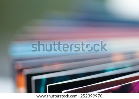 Book pages abstract - stock photo