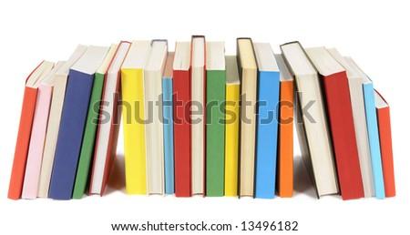 Book row - stock photo