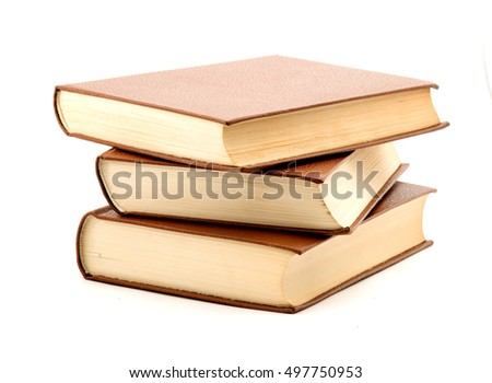 book studio isolated over white