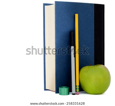 Books and school classes - stock photo