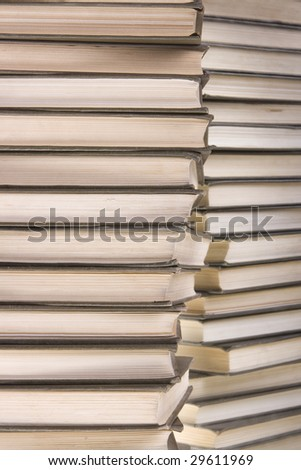 Books close-up.