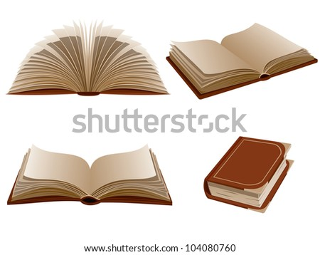 Books. Raster version, vector file ID: 101281981