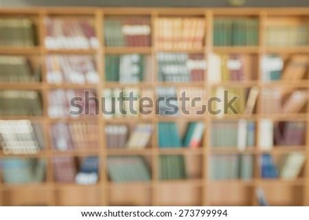 Bookshelf, shelf, student. - stock photo