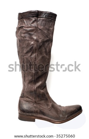 boot isolated on white