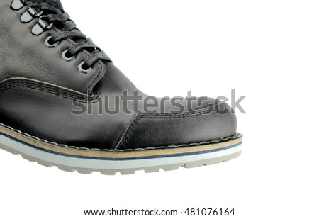 Boot on white background.