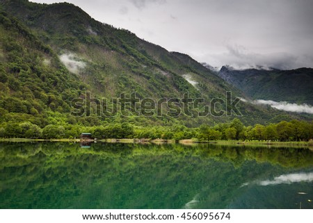 Boracko Lake, Bosnia - stock photo