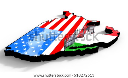 Mexico Border Fence Stock Images RoyaltyFree Images Vectors