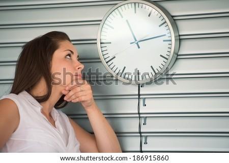 stock-photo-bored-executive-woman-lookin