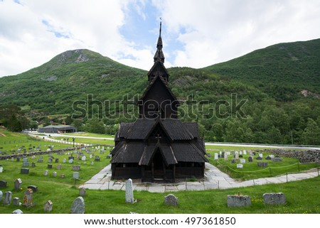 Borgund Stave Church, The Best Preserved Of Norwayu0027s 28 Extant Stave  Churches