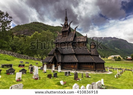 Borgund Stave Church, The Best Preserved Of Them All, Norway