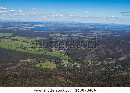 Boroka Lookout, Grampians National Park, Australia - stock photo