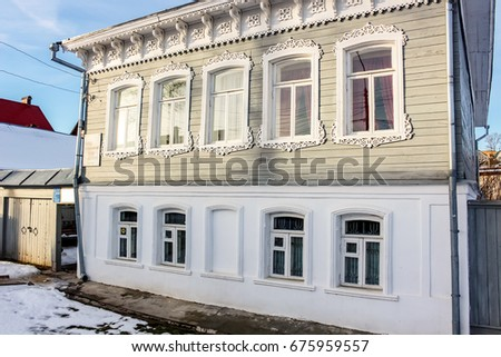 BOROVSK, RUSSIA - NOVEMBER 2016: Museum-apartment of K.E. Tsiolkovsky in Borovsk