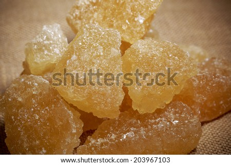 Borwn rock sugar
