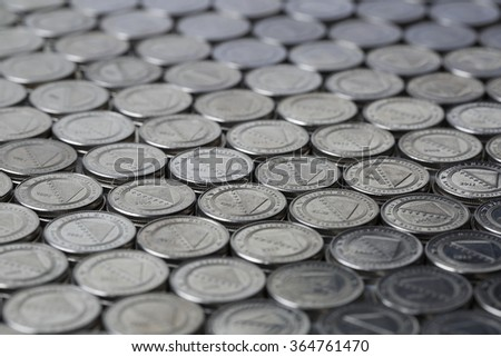 Bosnian money background