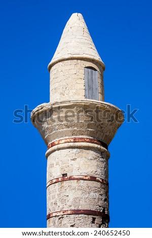 Bosnian mosque in Caesarea - stock photo
