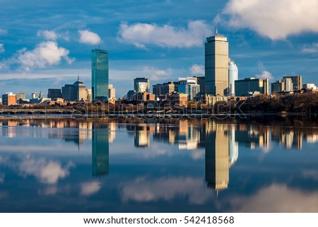 Boston Back bay in day light