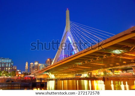 Boston Old State House building in Massachusetts  USA - stock photo