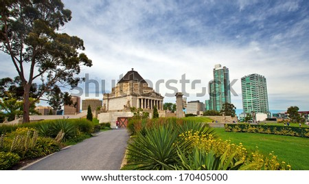 Botanic Garden in Melbourne, Victoria, Australia  - stock photo