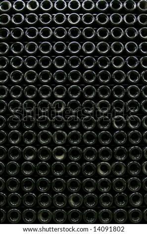 Bottle background - stock photo