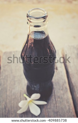 bottle of cola drink - stock photo