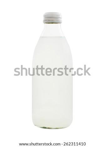 Bottle of milk - stock photo
