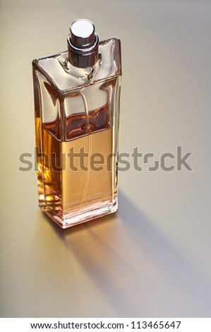 Bottle of perfume.
