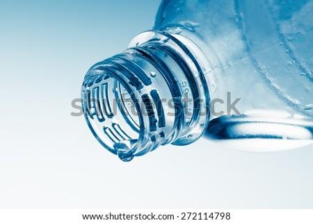 Bottle, Water, Empty. - stock photo