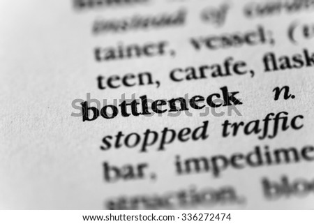 Bottleneck - stock photo
