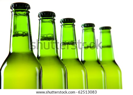 Bottles of beer against