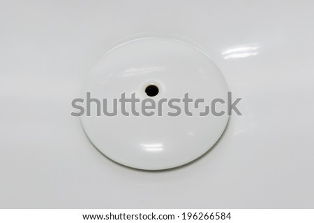 bottom of white urinals in men toilet