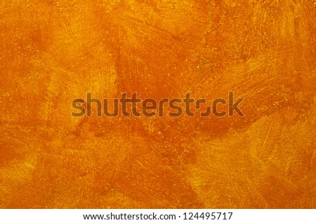bottom painting orange