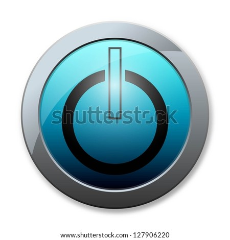 Botton icon business on white background