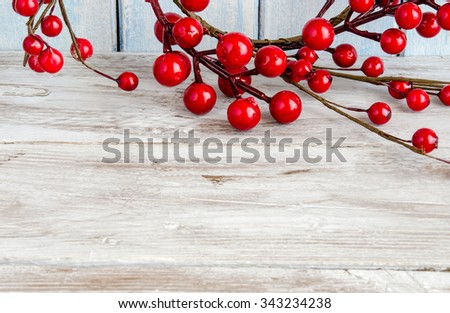 Boughs of holly - stock photo