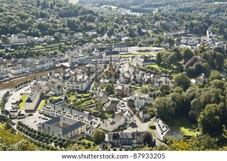 Bouillon is a municipality in Belgium. It lies in the country's Walloon Region and Luxemburg Province