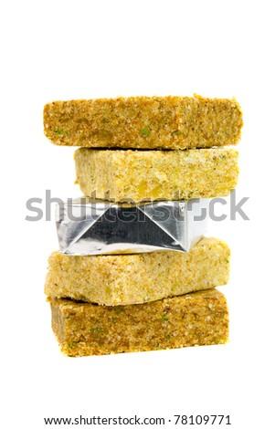 Boullion cube - stock photo