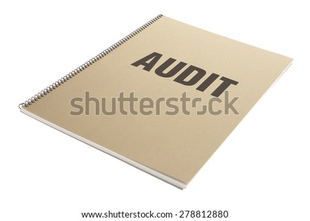 Bound Document on White - Audit