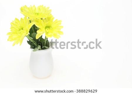 Bouquet Chrysanthemum Vase Stock Photo Edit Now 388829629