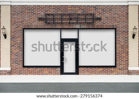 Boutique Shopwindow - stock photo