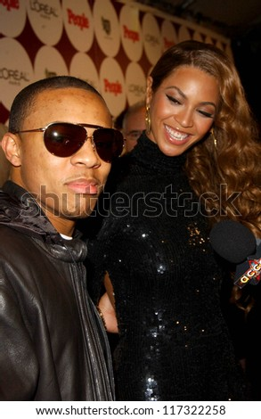 Bow Wow and Beyonce Knowles at the People Magazine Post Grammy Party. Eleven, West Hollywood, CA. 02-11-07 - stock photo