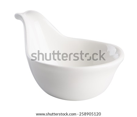 bowl. ceramic bowl on background. ceramic bowl on a background - stock photo