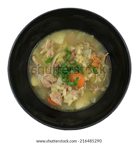 Bowl of Irish Stew 1 - stock photo