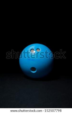 bowling ball - stock photo