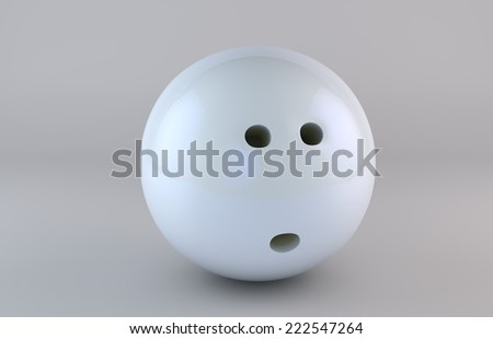 bowling ball isolated on white background/Bowling Ball