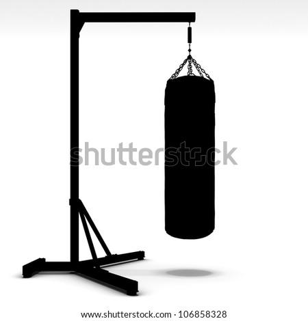 Box and boxing - stock photo