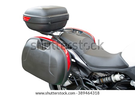 Box equipment of Motorcycle